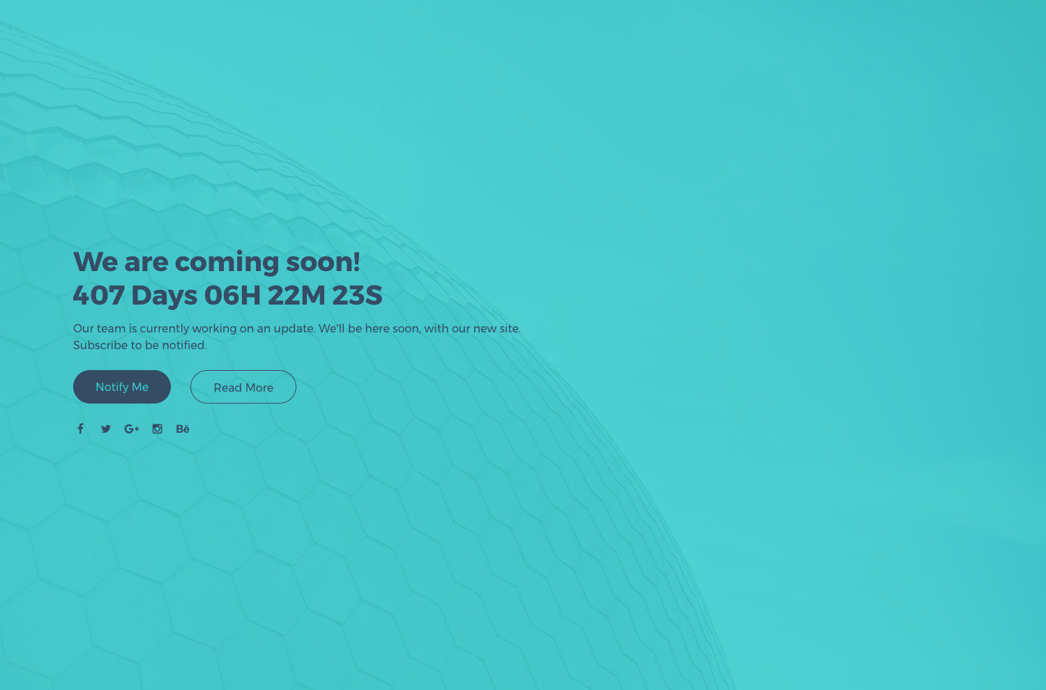 Wind Coming Soon Template Harbour Themes